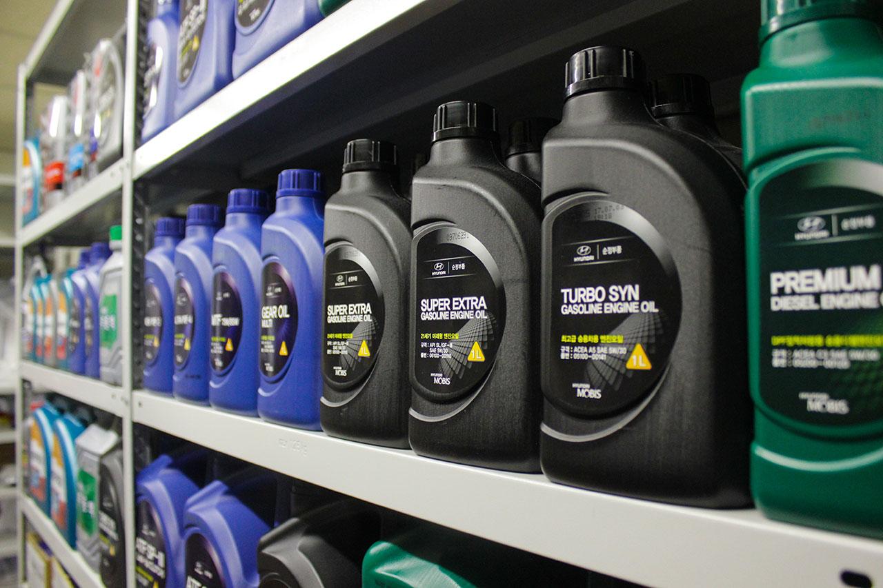 Масла и спецжидкости для корейских автомобилей КИА и ХЕНДАЙ в наличии и под заказ